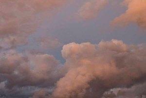 A pastel sky